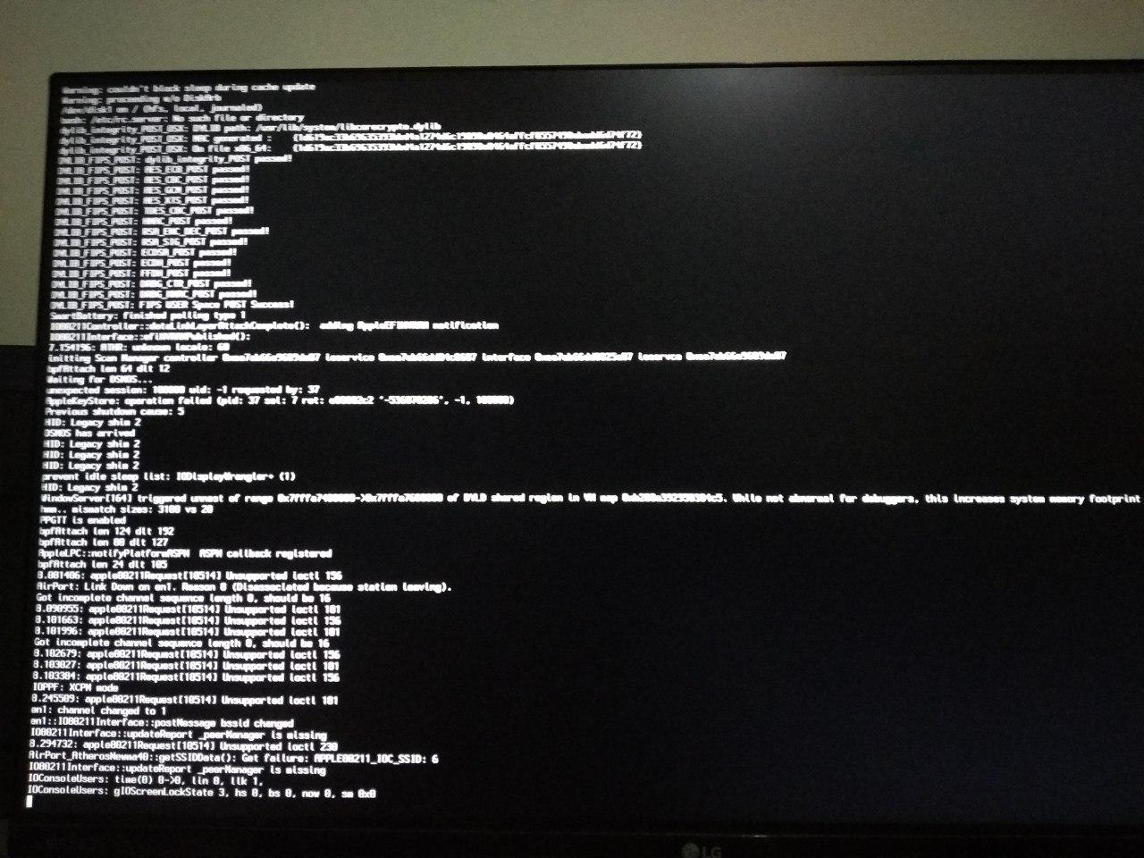 Can't go desktop when HDMI is connected at the first boot