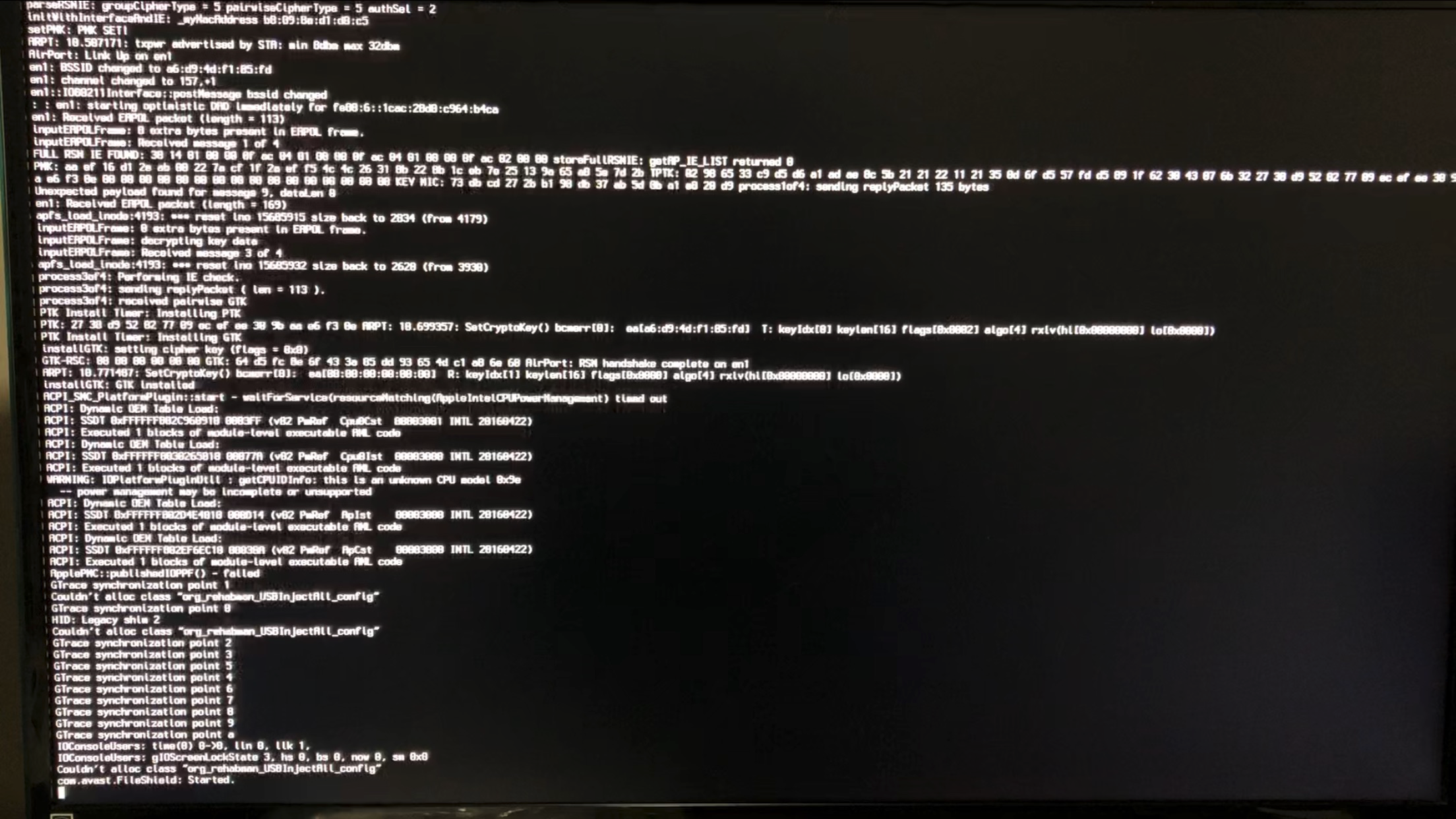 Going to black screen after clover boot (AMD Pro WX7100