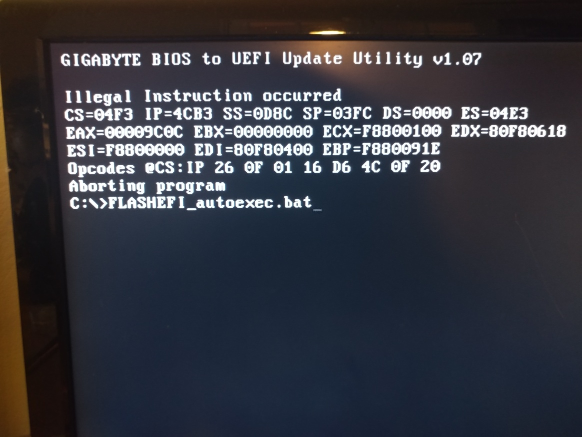 Solved] Having trouble updating to U1n(UEFI BIOS) with GA-Z68X-UD3H