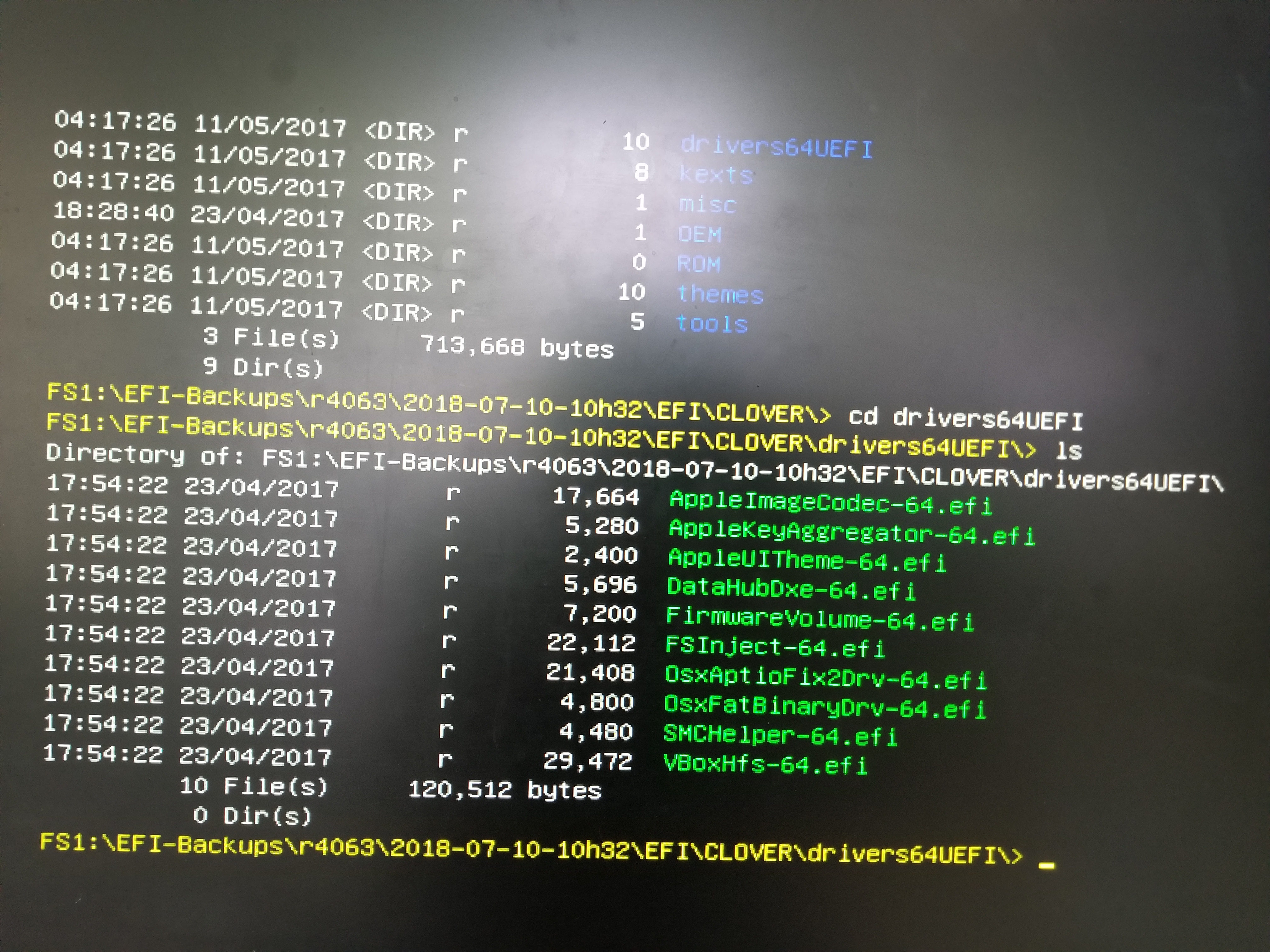 SOLVED] Clover Update r4586 disables OS Boot (Black Screen
