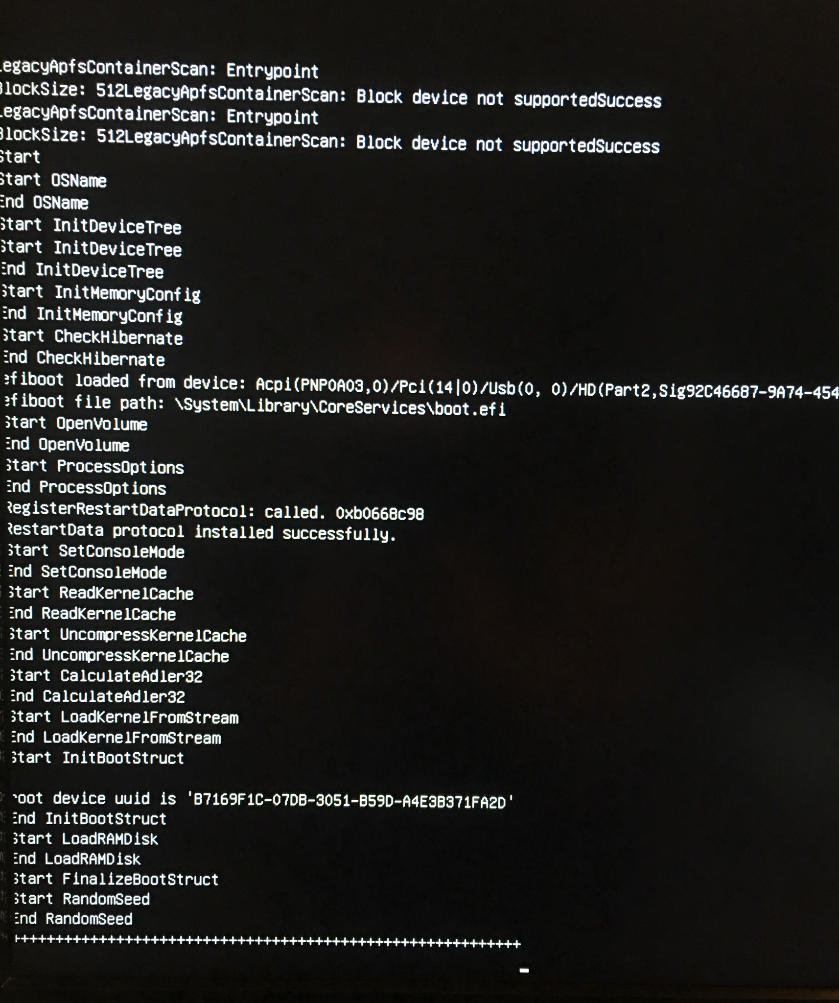 Dell Optiplex 3060 Booting Issue