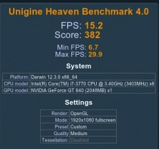 NVIDIA Performance Benchmarks - 10 8 3 - GeForce GT 640 to