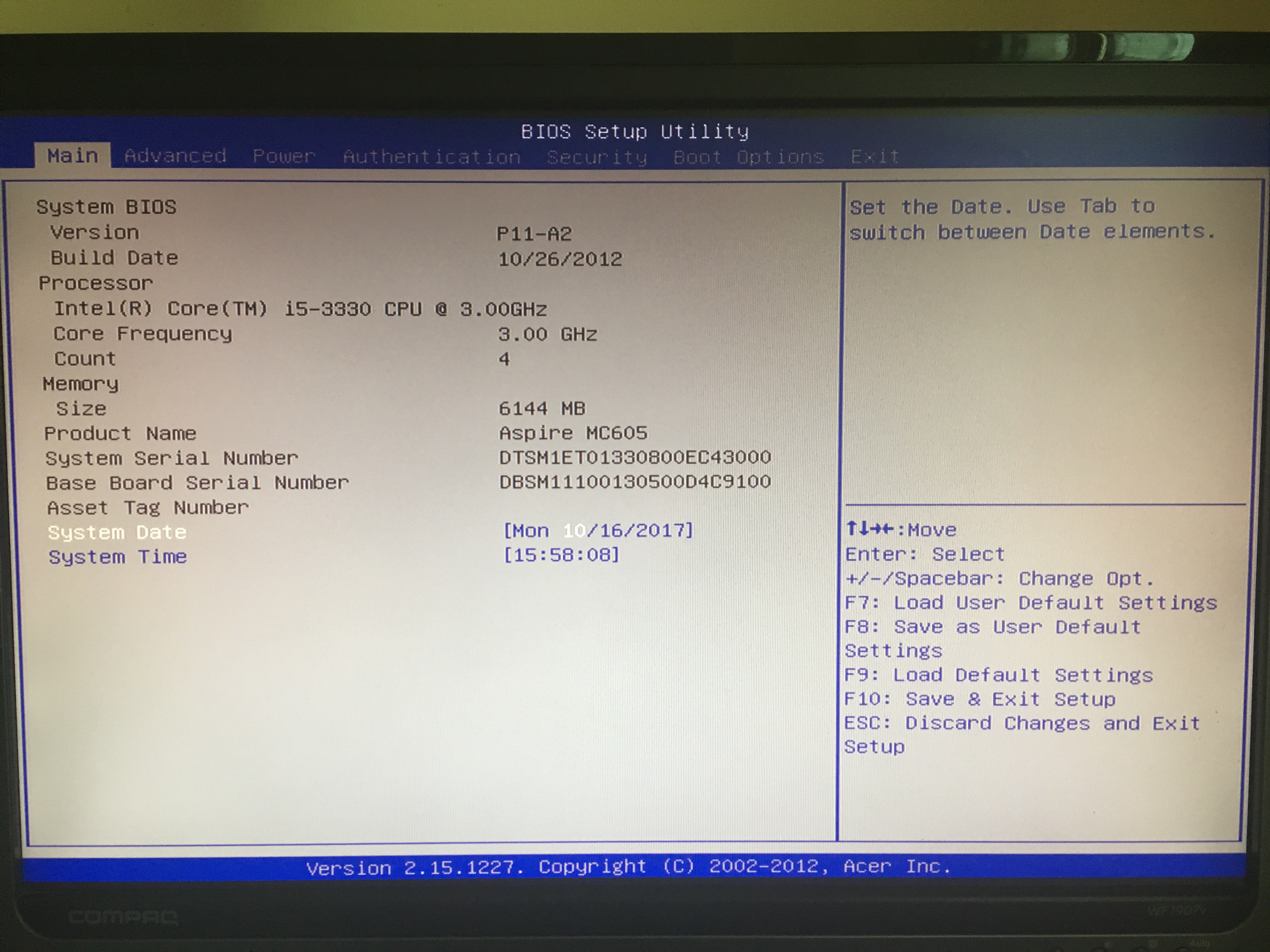 Can someone help me out with BIOS setup? | tonymacx86 com