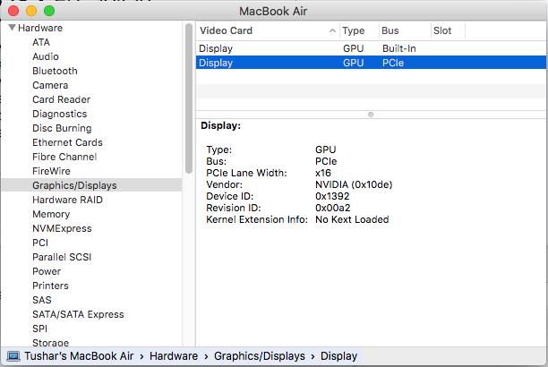 Intel HD 4600 Mobile graphics card being used instead of Nvidia