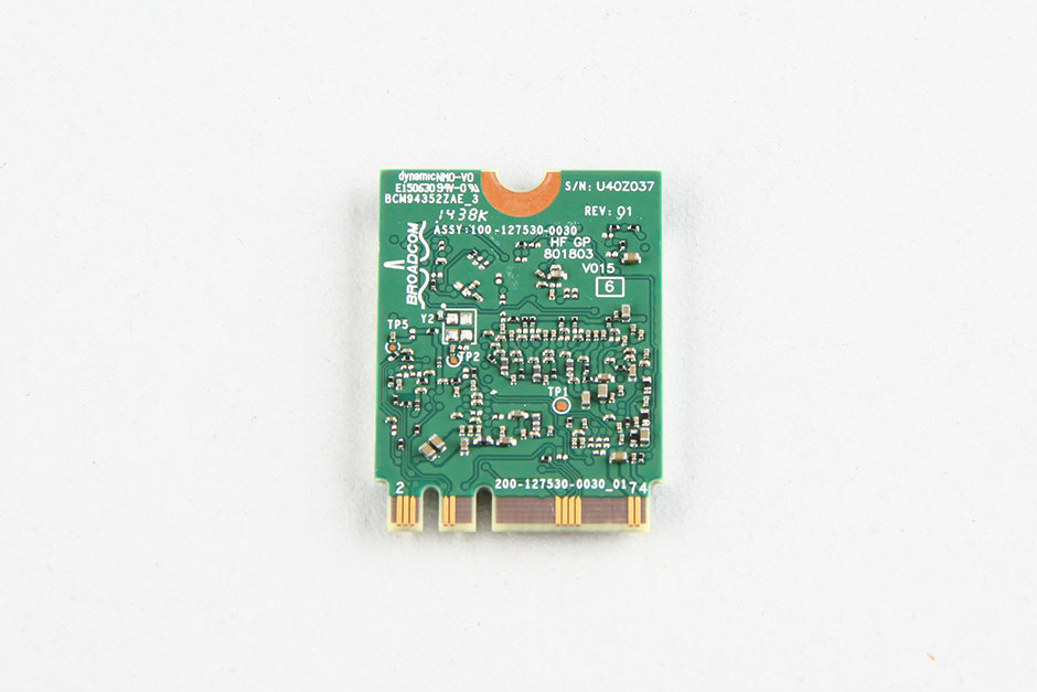 Replace M 2 aka NGFF wireless card to mini half PCIe
