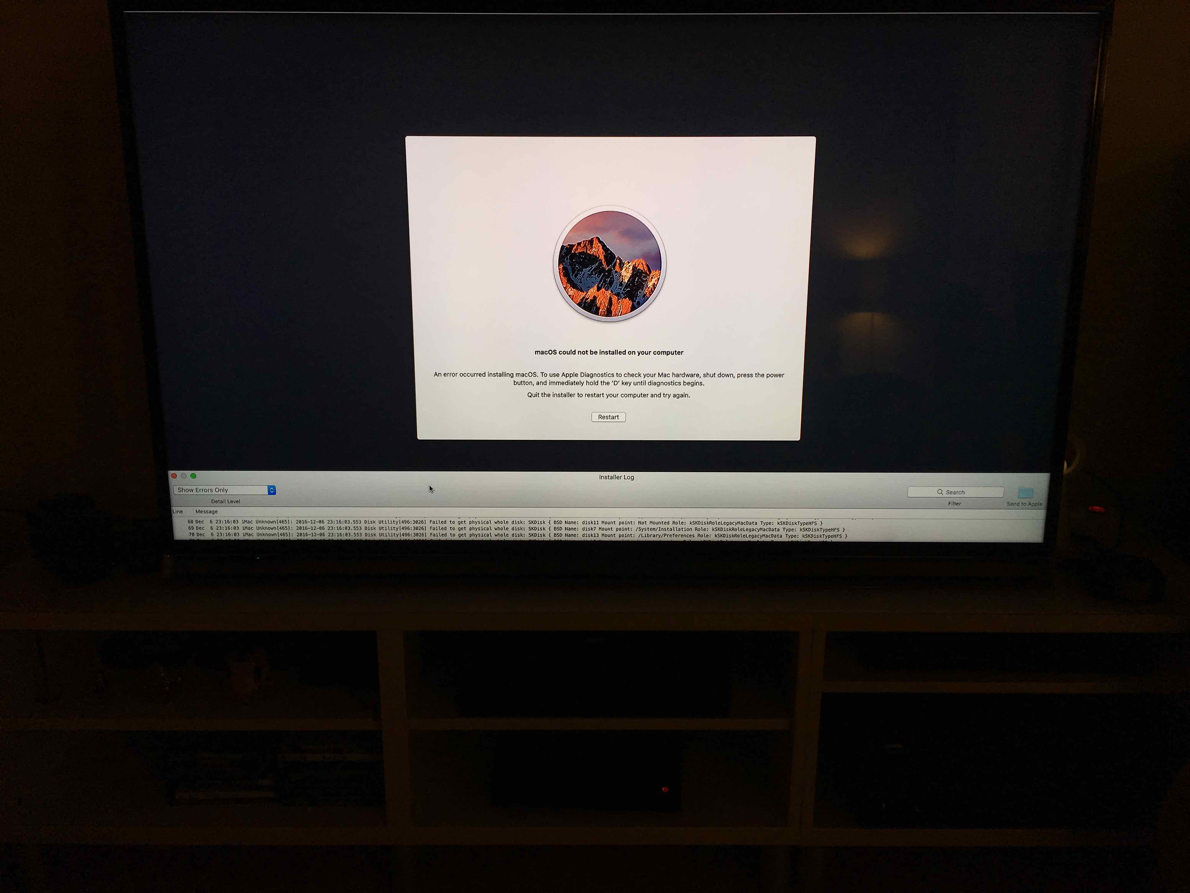 Gigabyte Z170X Designare: MacOS could not be installed on