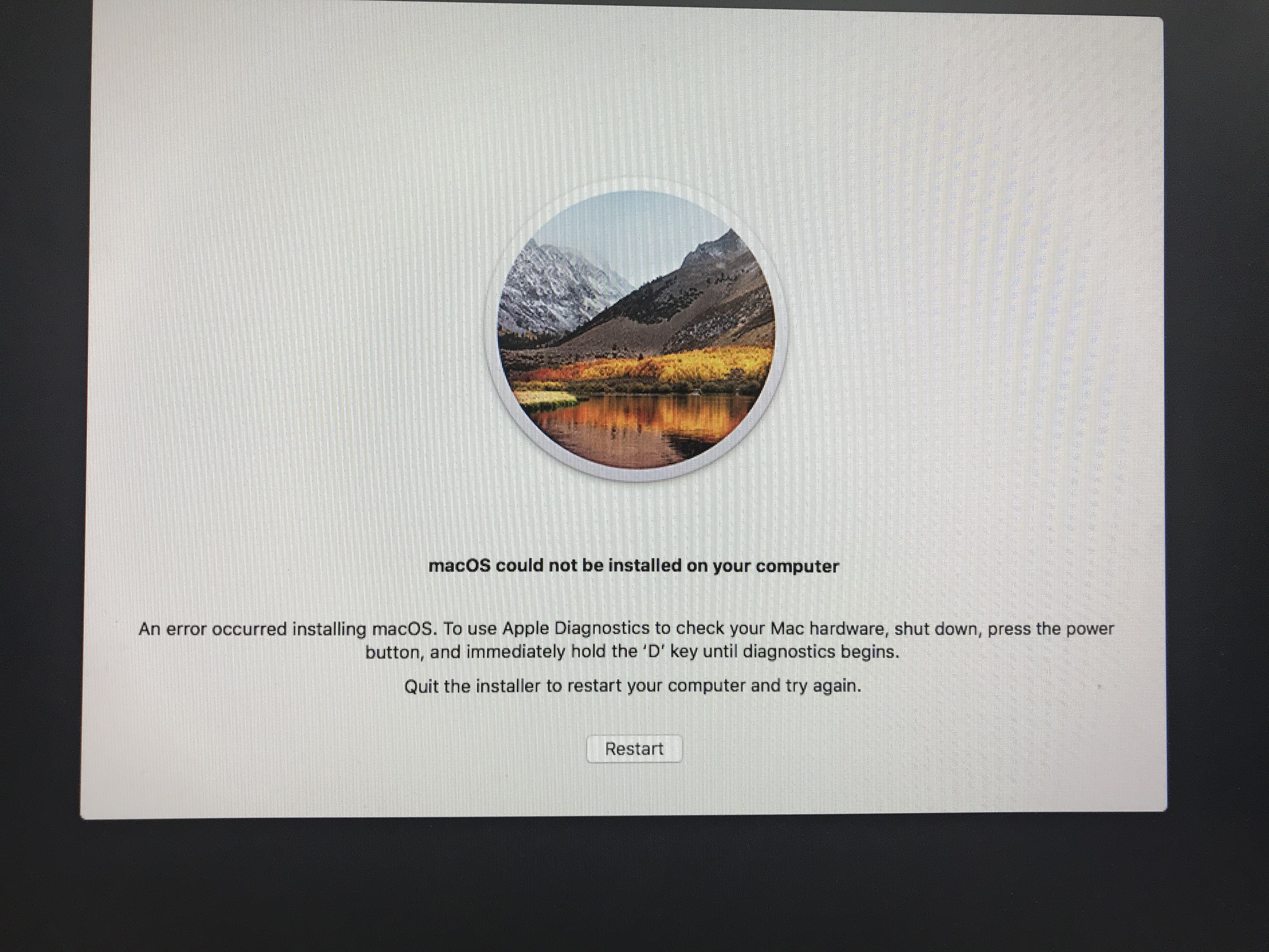 how to delete install mac os high sierra