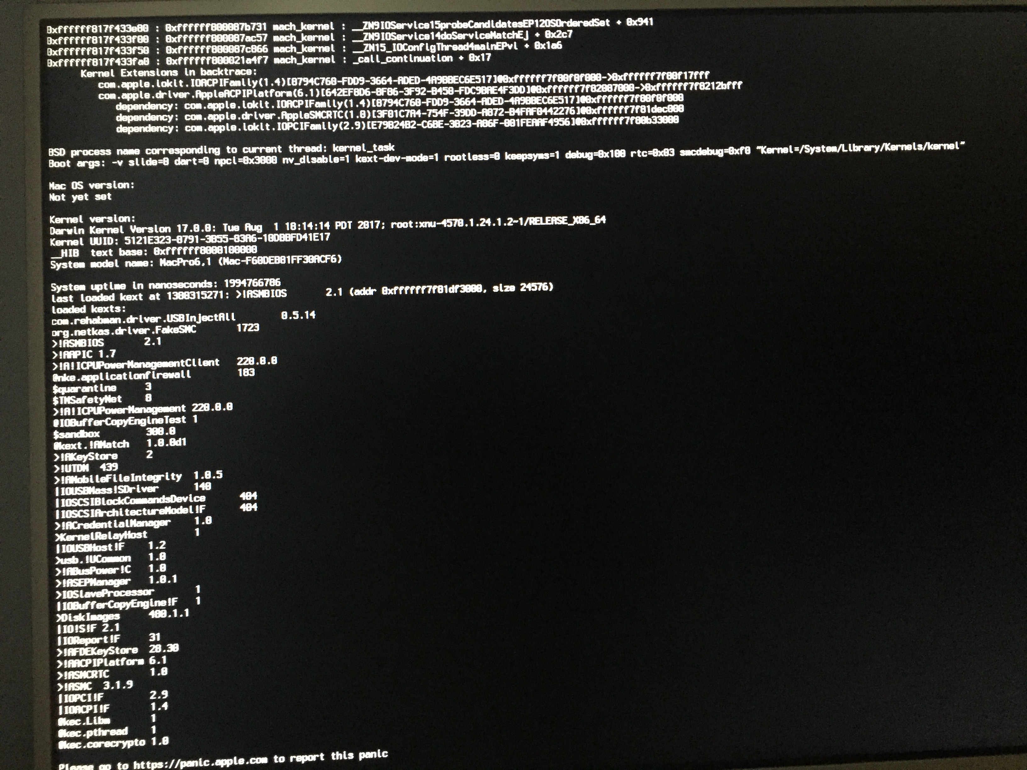 Solved] new possibilities for X79 AppleACPIPlatform panic