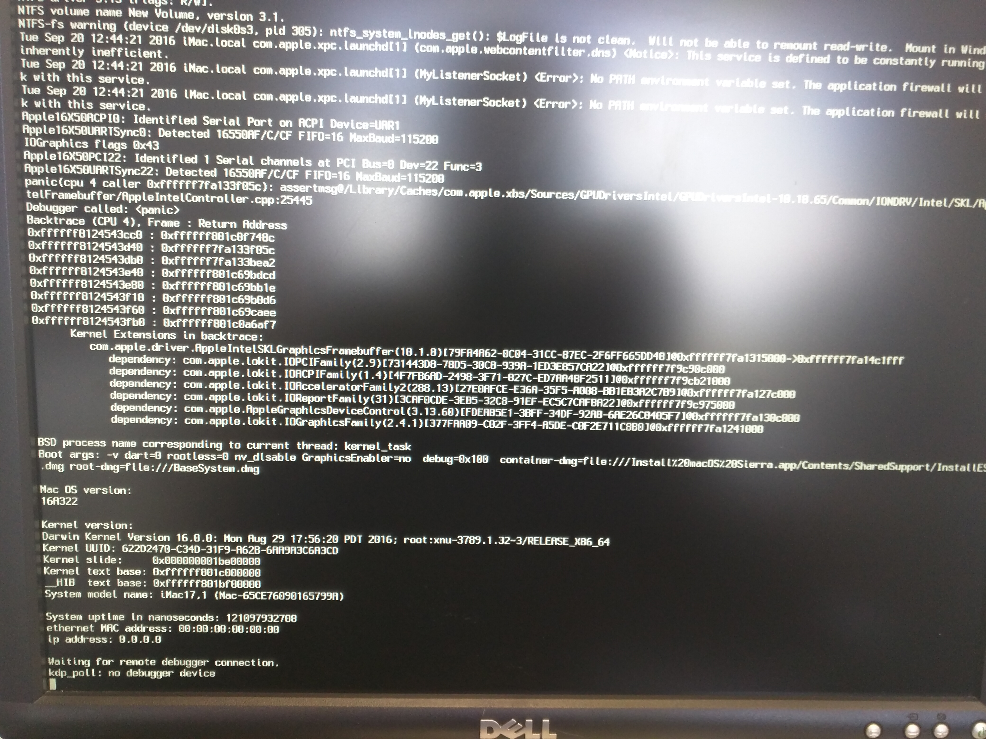 help] dell optiplex micro 7040 to hackintosh | Page 3