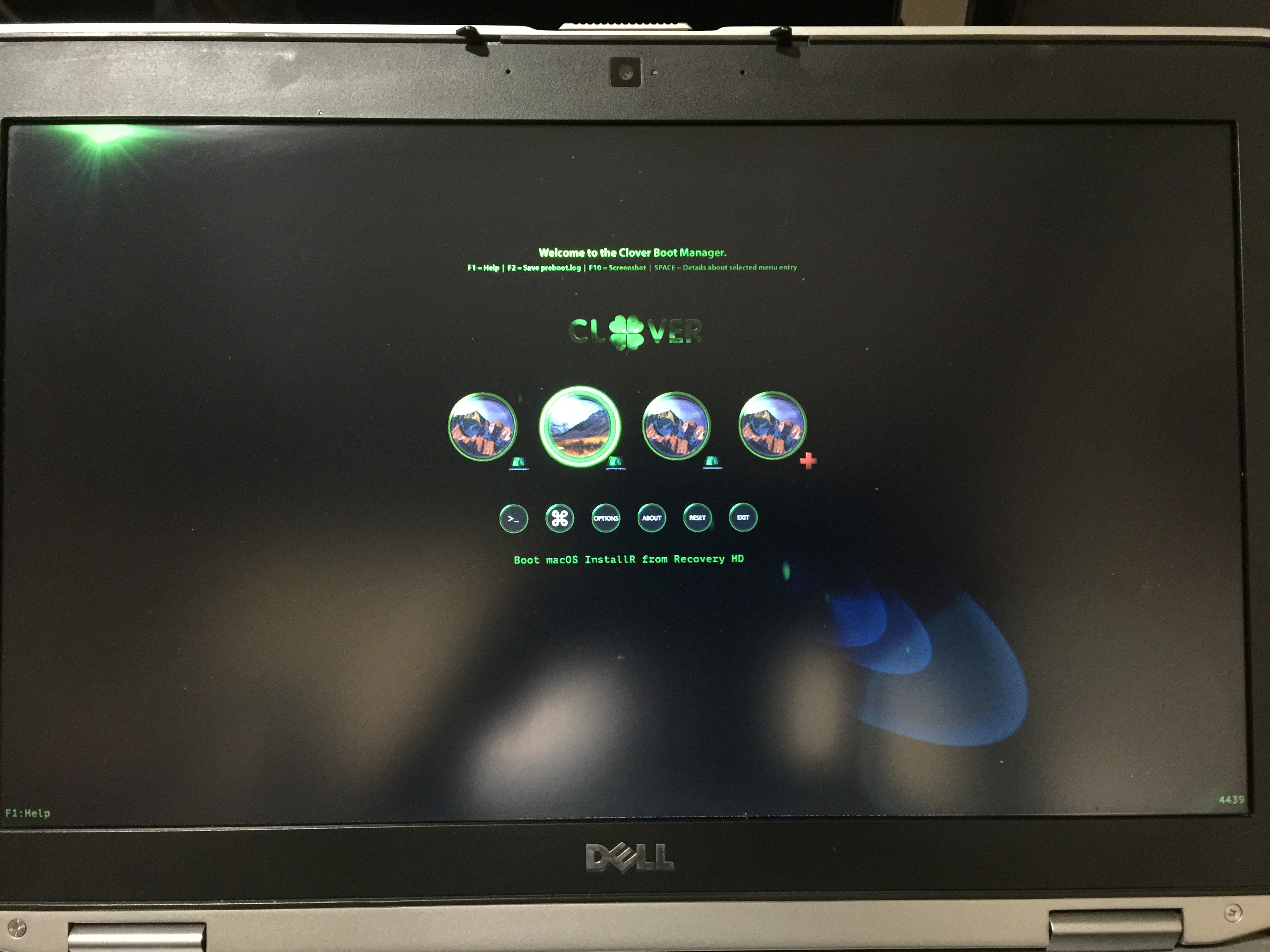 Hackintosh on Dell Latitude E6520 - Legacy boot - CLOVER | Page 4