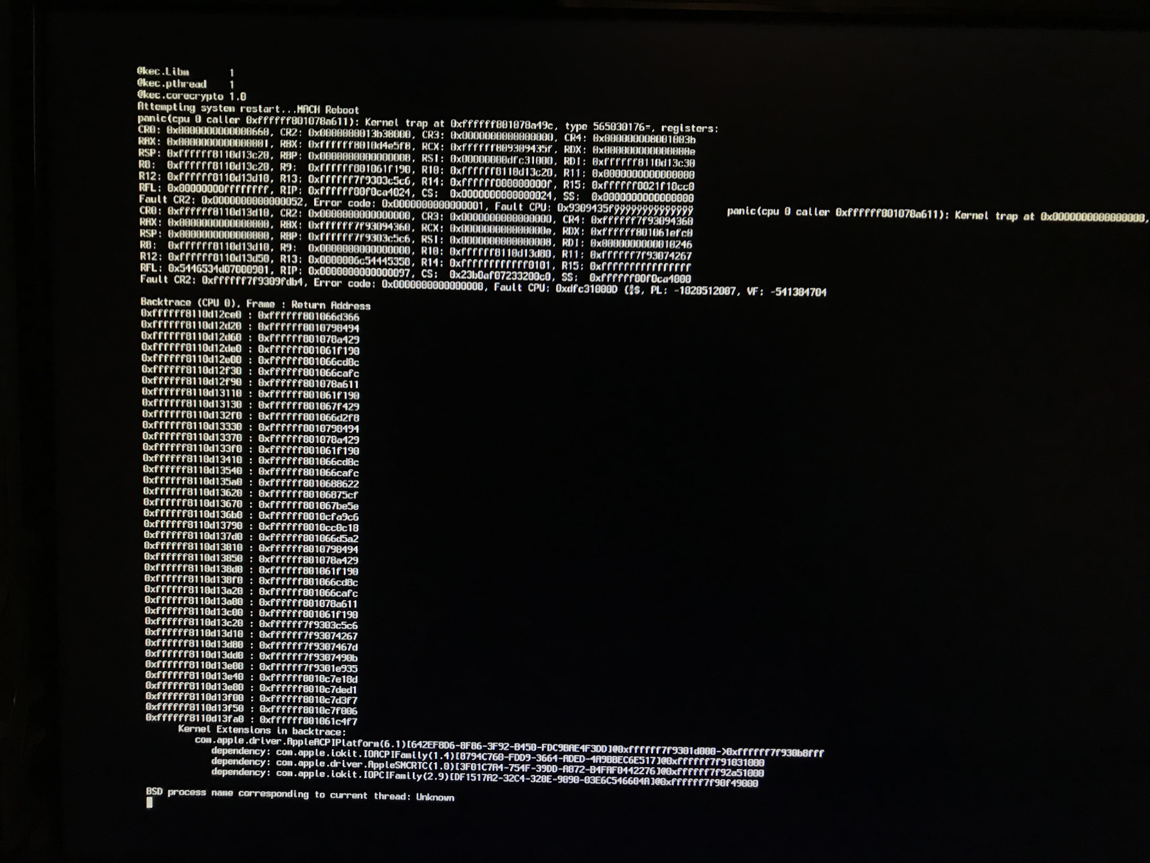 High Sierra installer boot hang: Unsupported cpu for