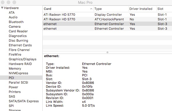 Intel Network adapters on OS X: Small Tree drivers   Page 16