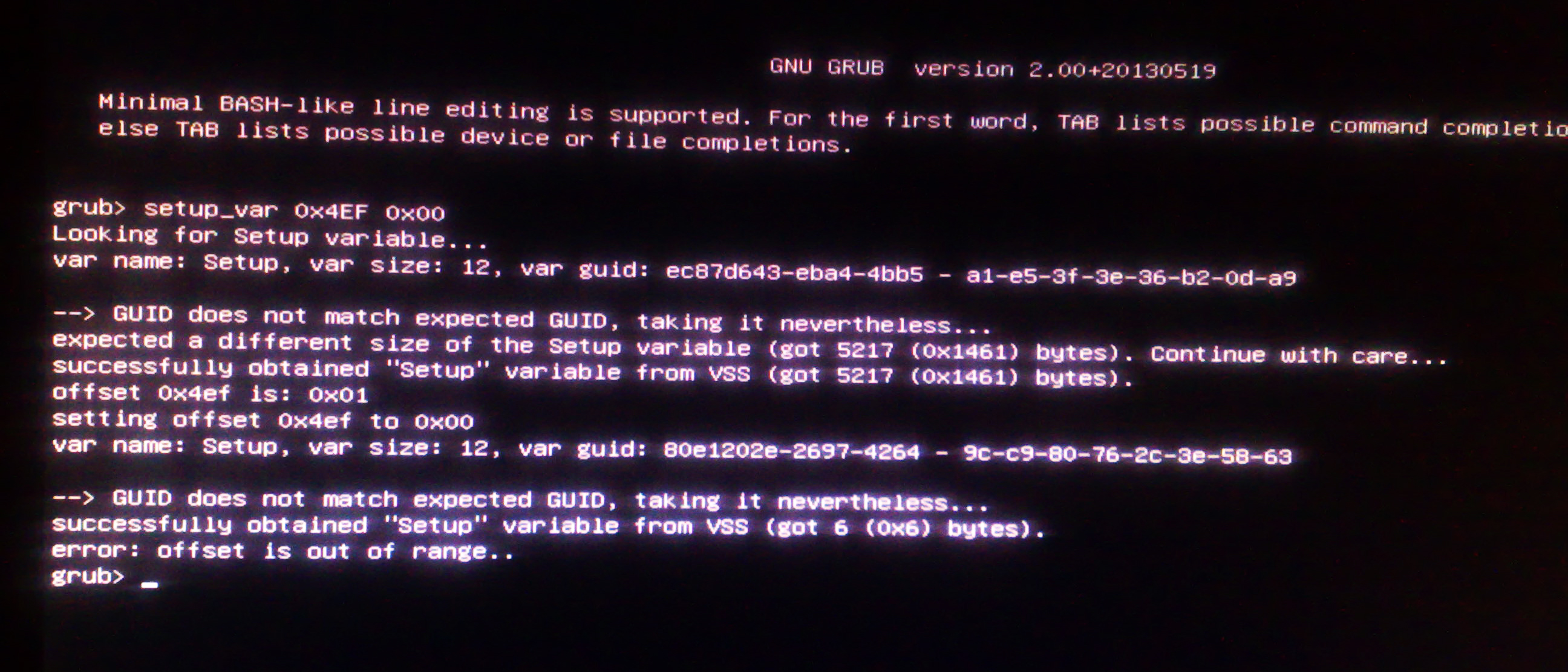 Successfully patched Z170X-UD5 TH CFG Lock (MSR Ex02) | Page
