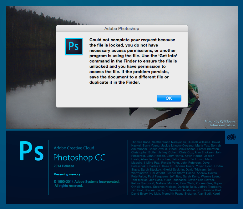 Trouble with Yosemite and Adobe Creative Cloud | tonymacx86 com