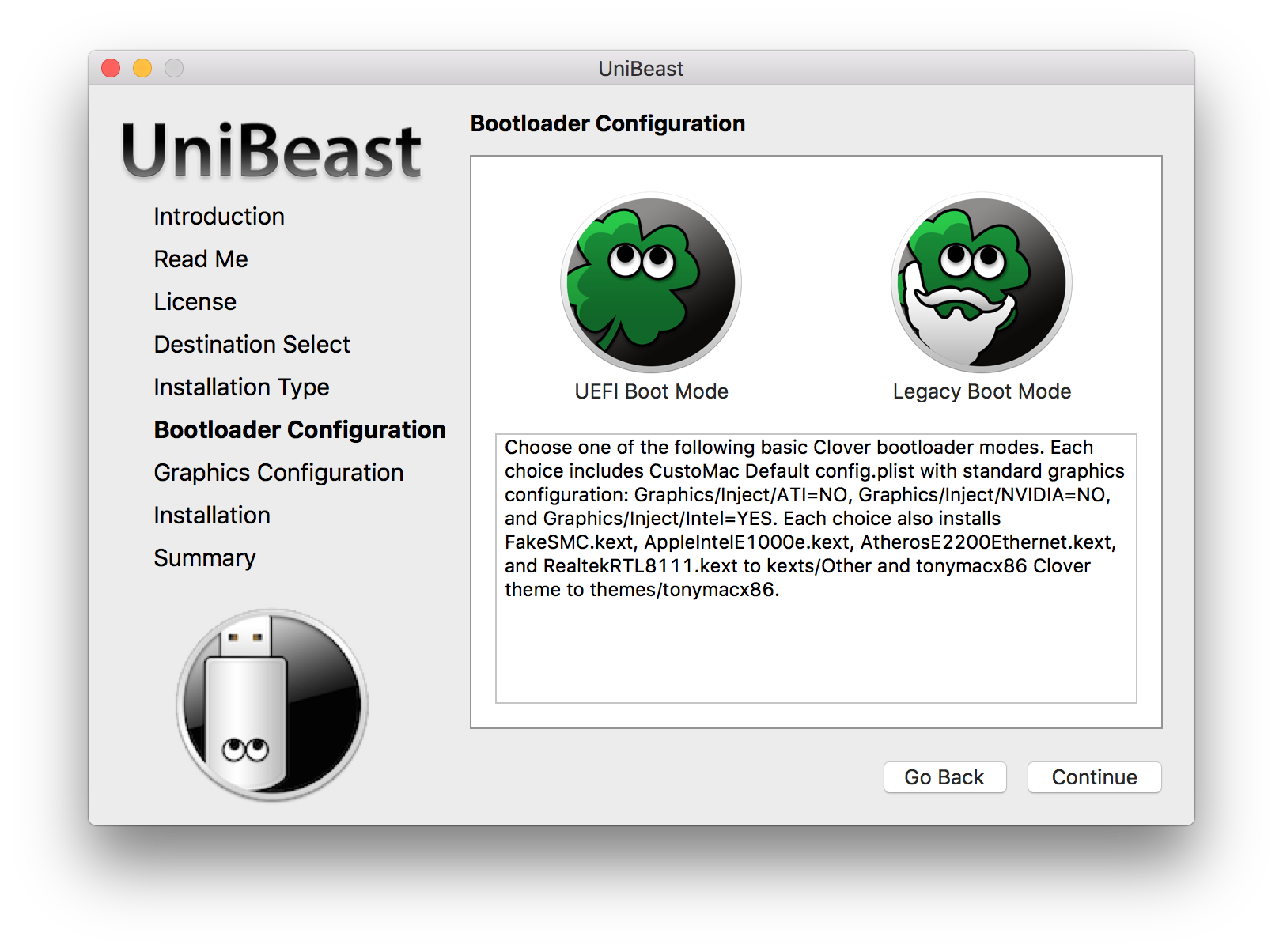 UniBeast: Install macOS Sierra on Any Supported Intel-based