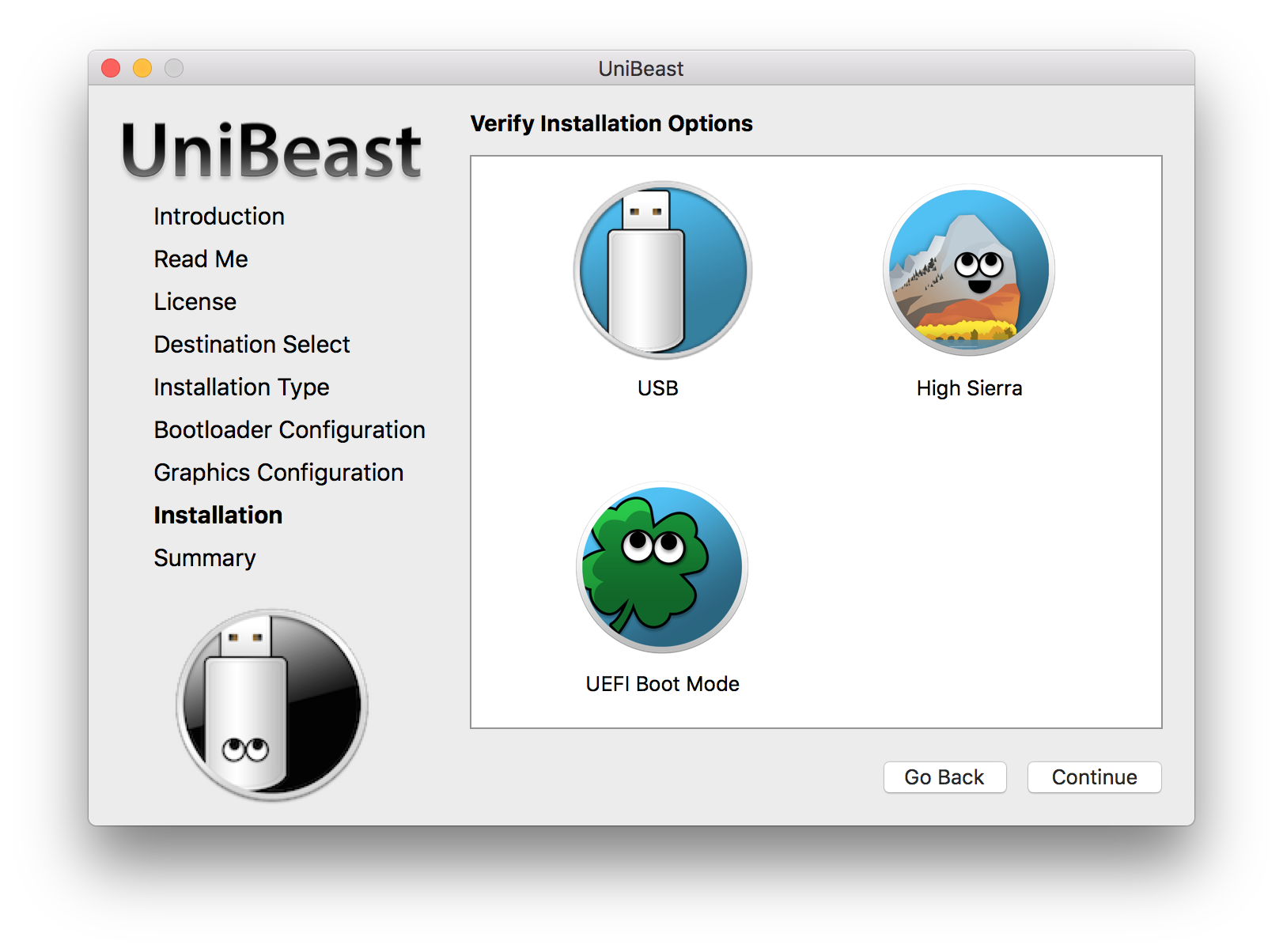 UniBeast: Install macOS Mojave on Any Supported Intel-based PC