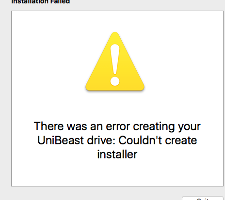 SOLVED] Impossible to create to bootable usb - unibeast 8 / high