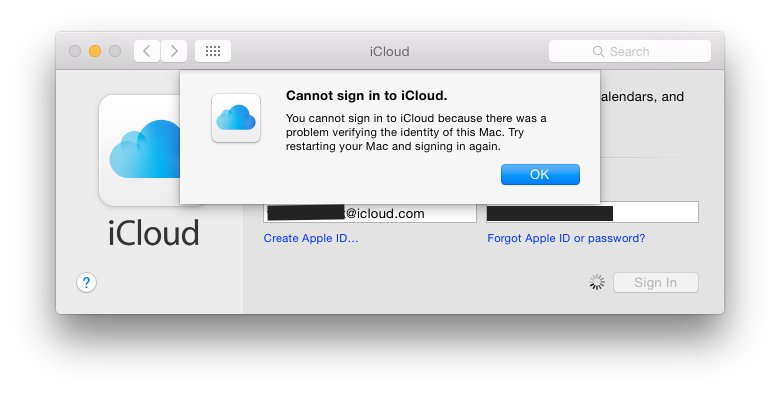 how to delete icloud account without password on os x