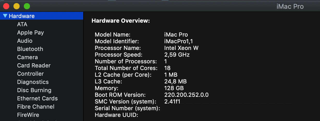iMac Pro X299 - Live the Future now with macOS 10 14 Mojave