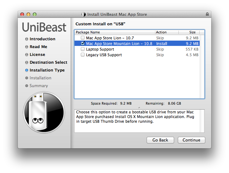 install mac os x mountain lion on pc from usb