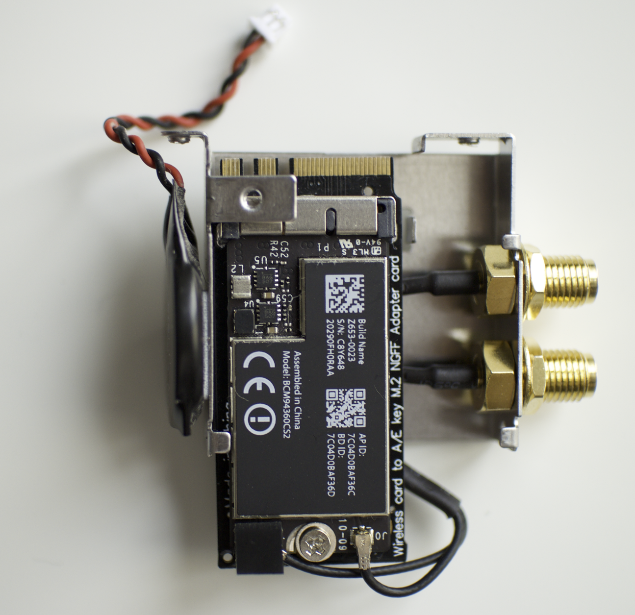 Solved) BCM94360CS2 M 2 NFGG – WiFi and Airdrop works but BT not