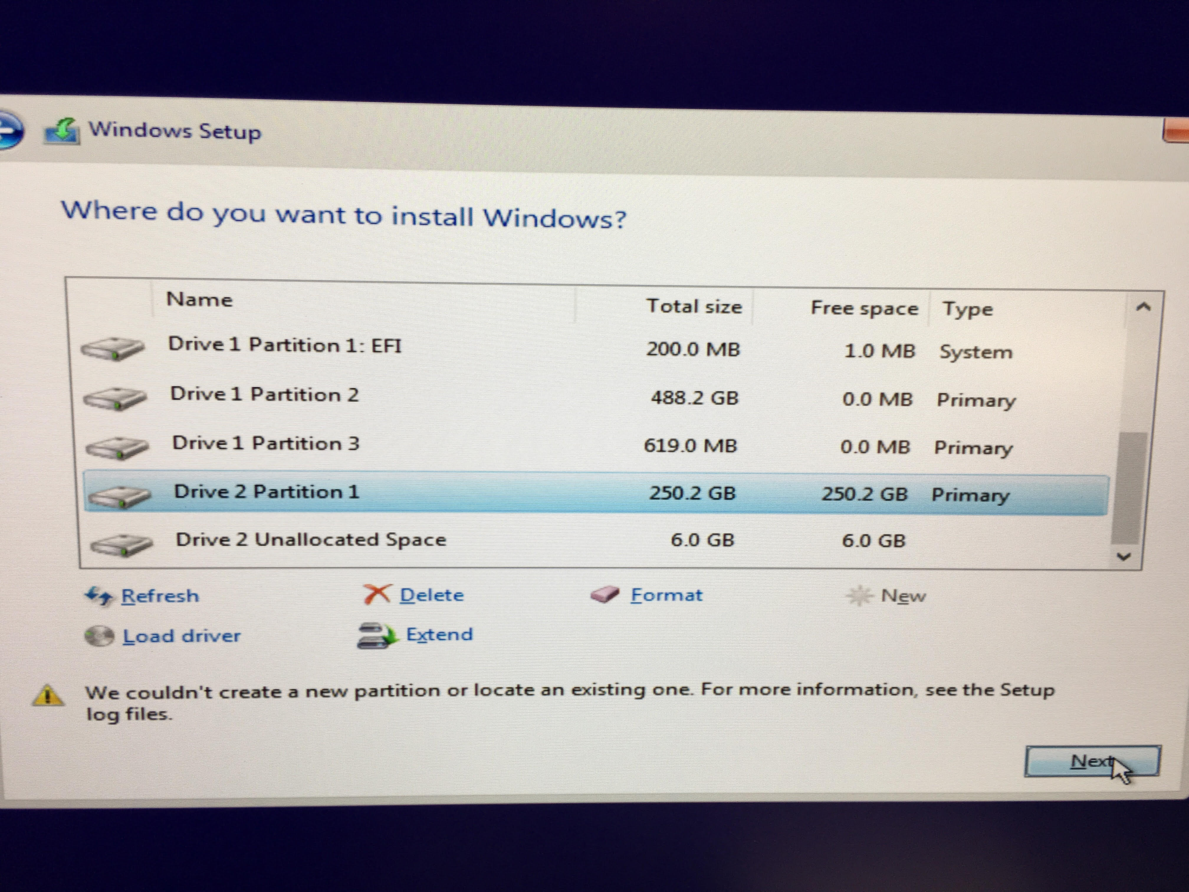 Trying to install windows on second SSD | tonymacx86 com