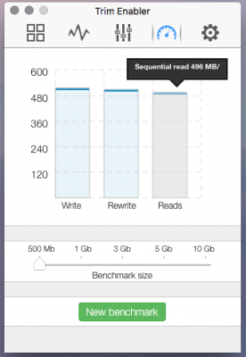 Post your SSD benchmarks using Blackmagic Disk Speed Test   Page 30