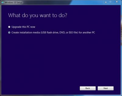 installer windows 10 clé usb rufus