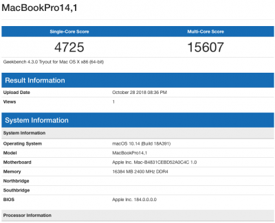 XPS 9560 10.14.0 Geekbench 4.3.0 CPU.png