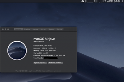 Solved] GTX 760 not work mojave 10 14 2 | Page 2 | tonymacx86 com