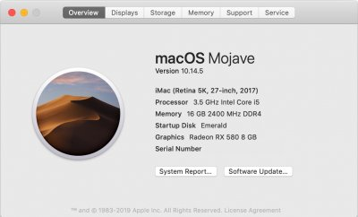 updated to Mojave, no quick look or preview jpg, help AMD rx