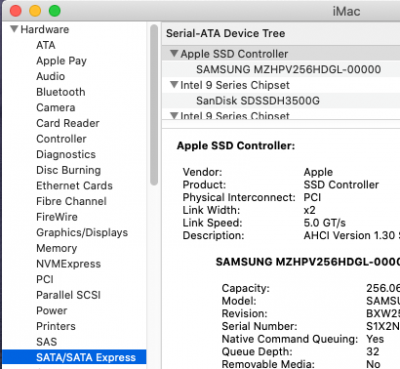 Reporting Generic SSD Controller for NVMe | tonymacx86 com