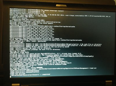 HELP] Lenovo T410 Yosemite wont boot after install