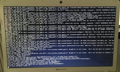 Problem during installation on Packard Bell EASYNOTE LS44HR120