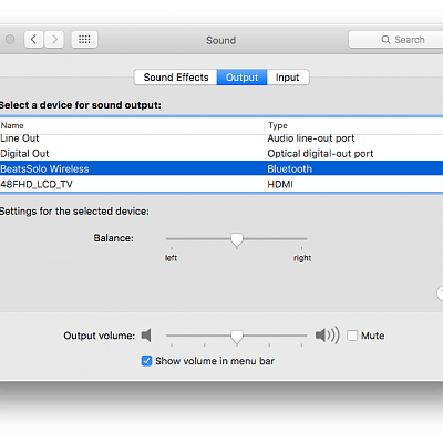 System Preferences/Audio 1