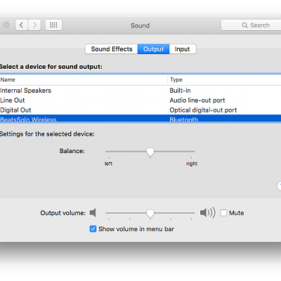 System Preferences/Audio 2