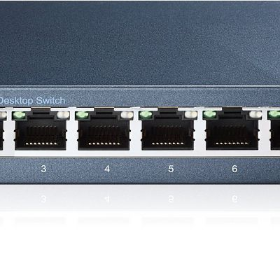 Added TP-LINK TL-SG108 8 Port Metal Gigabit Ethernet Switch