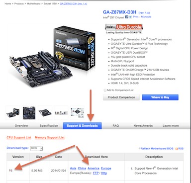 How to Update Your Gigabyte Motherboard's BIOS | tonymacx86 com