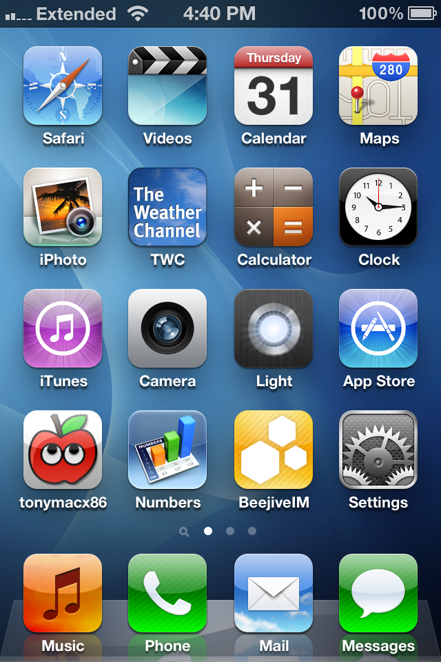 iphone home page post a screenshot of your iphone home screen tonymacx86 11928